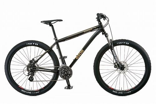 【特別価格】 GIOS ( ジオス ) マウンテンバイク DAGGER ( ダガー ) 9 マット ブラック 400
