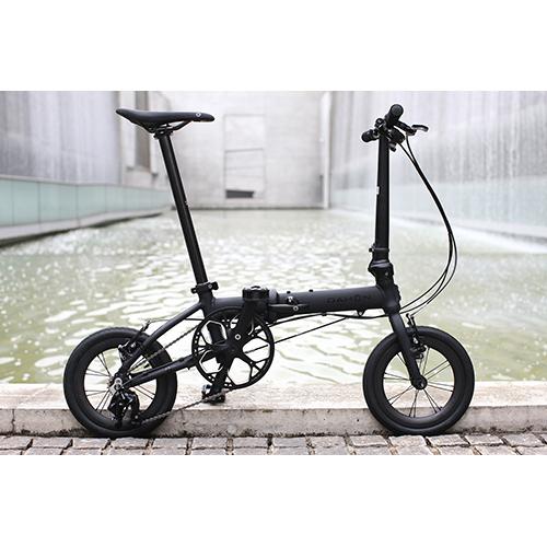 DAHON ( ダホン ) 折りたたみ自転車 K3 カーボンホイール仕様 マットブラック