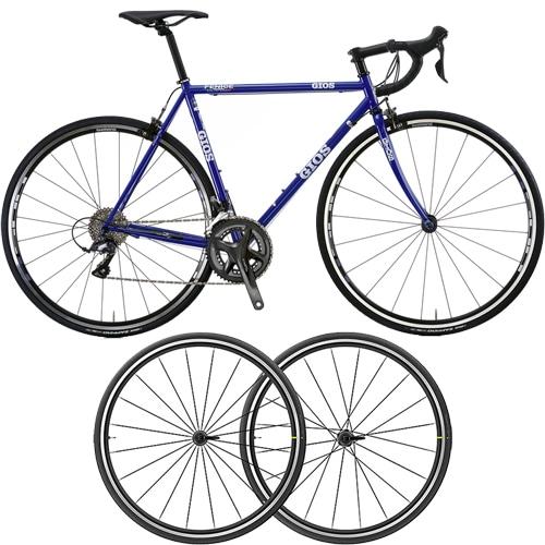 GIOS ( ジオス ) ロードバイク FENICE AKSIUM ELITE EVO UST セット ( フェニーチェ アクシウム エリート エヴォ UST ) ジオスブルー