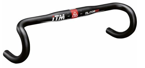 ITM ( アイティーエム ) ロードバイク用(ドロップハンドルバー) ALCOR 80 ハンドルバー ( アルコル 80 ) ブラック 400