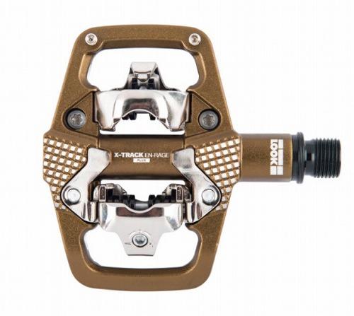 LOOK ( ルック ) MTB用ビンディングペダル X-TRACK EN-RAGE+ ( エックストラック アンレージ プラス ) ブロンズ