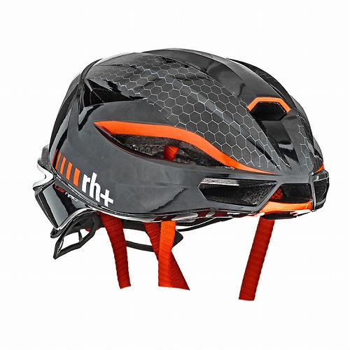 rh+ ( アールエイチプラス ) ヘルメット LAMBO ( ランボ ) シャイニー ブラック / シャイニー レッド L/XL