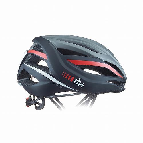 rh+ ( アールエイチプラス ) ヘルメット AIRXTRM ( エアーエクストリーム ) マット ダーク シルバー / マット ブラック / レッド L/XL