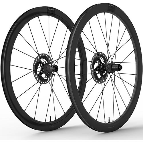 SCOPE CYCLING ( スコープ サイクリング ) ロードバイク用ディスクホイール S4 DISC TLR 前後セット ( S4 ディスクブレーキ チューブレスレディ ) ブラック シマノフリー