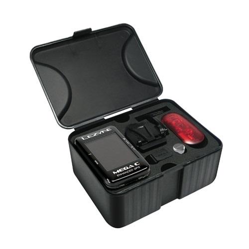 LEZYNE ( レザイン ) サイクルコンピューター_本体 MEGA C GPS LOADED W/DIRECT XL ( メガ カラー GPS ) ブラック