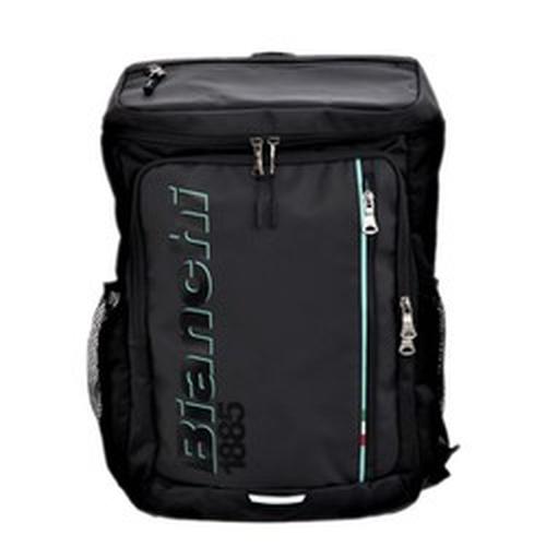 【 オンライン限定 】 BIANCHI ( ビアンキ ) バックパック ボックス型バッグ ブラック M