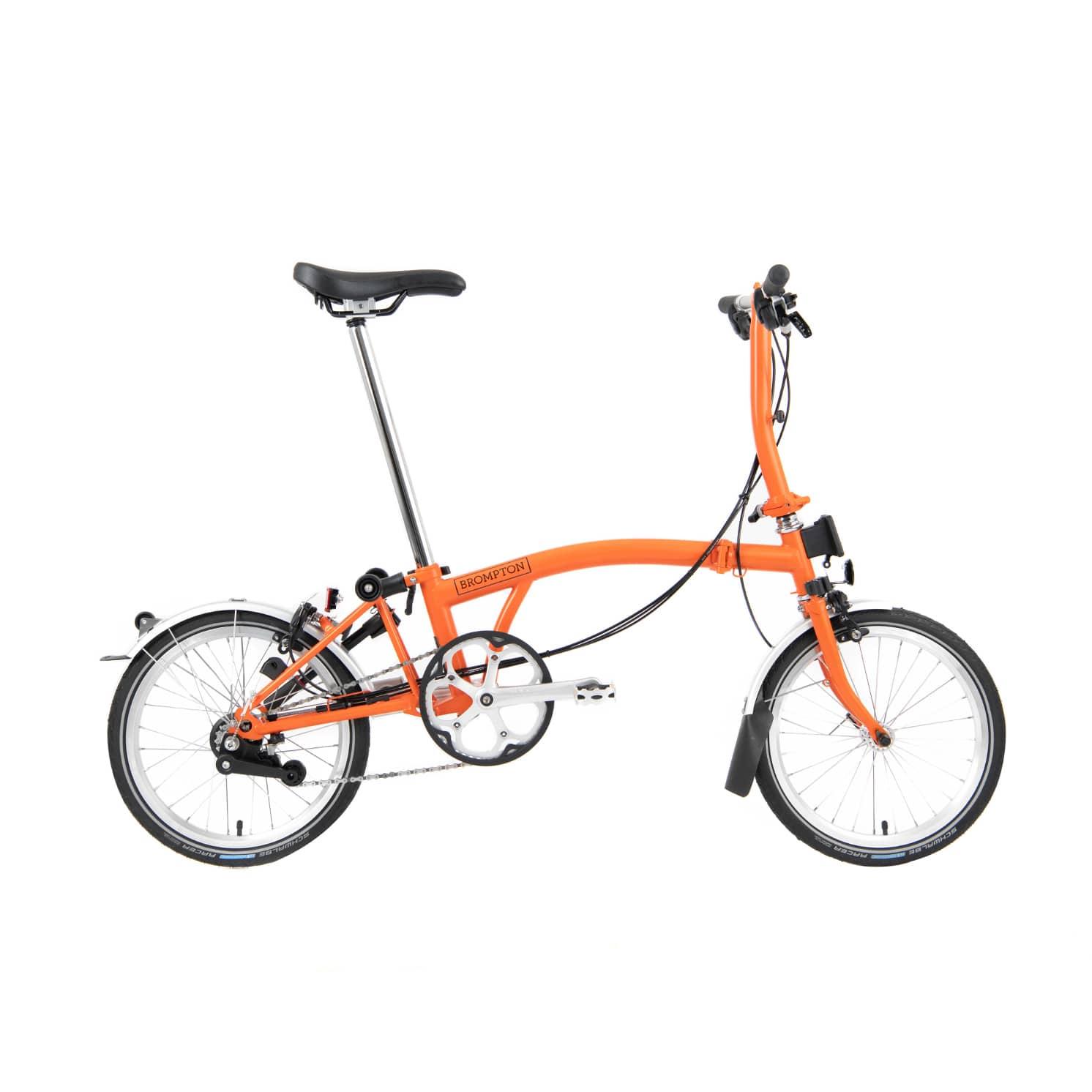BROMPTON ( ブロンプトン ) 折りたたみ自転車 21年モデル M6R オレンジ