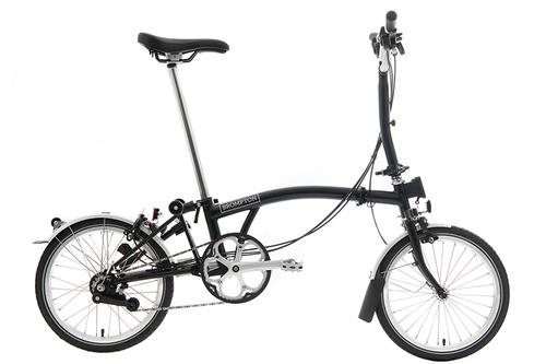 BROMPTON ( ブロンプトン ) 折りたたみ自転車 S6L ブラック