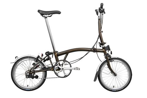 BROMPTON ( ブロンプトン ) 折りたたみ自転車 S6L ブラック ラッカー