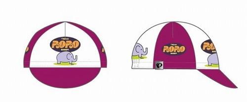 PEARL-IZUMI ( パールイズミ ) P471 パオパオ プリント サイクルキャップ フリーサイズ