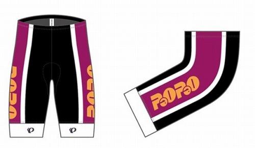 PEARL-IZUMI ( パールイズミ ) P263-3DR パオパオ プリント パンツ