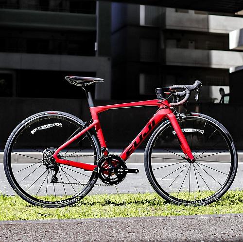 FUJI ( フジ ) ロードバイク TRANSONIC 2.5 RIM ( トランソニック 2.5 リム ) マット レッド 52