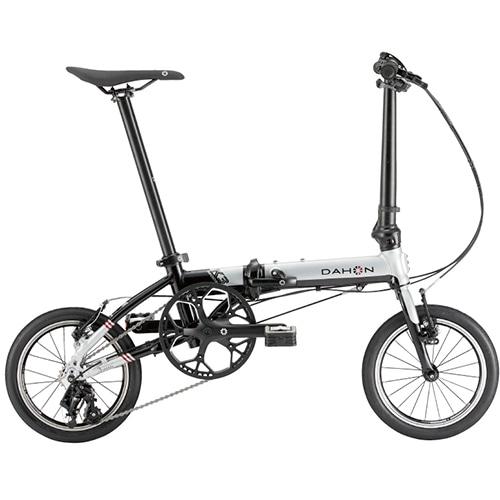 【送料無料・キックスタンド付き/ 自転車生活応援キャンペーン開催中! 】 DAHON ( ダホン ) 折りたたみ自転車 K3 シルバー / ブラック
