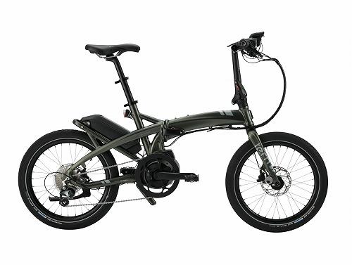 TERN ( ターン ) 電動アシスト自転車 ( e-Bike ) VEKTRON ( ヴェクトロン ) S10 ステイン メタリック フォレスト / ガンメタル