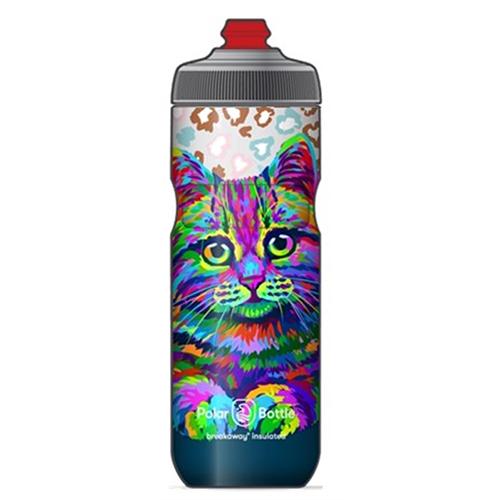 POLAR BOTTLE ( ポーラーボトル ) 保冷ボトル ブレークアウェイ CUTE CATS1 20OZ