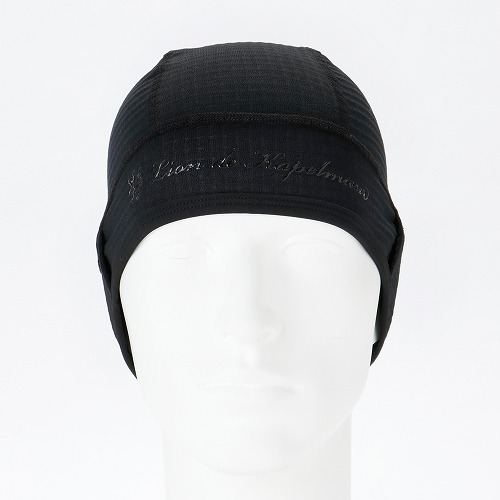 KAPELMUUR ( カペルミュール ) 帽子・ヘッドバンド POLARTEC スカル キャップ ブラック OS