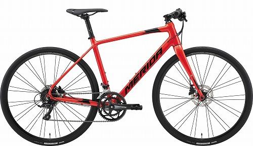 MERIDA ( メリダ ) クロスバイク GRAN SPEED200-D ( グラン スピード ) ゴールデン レッド ( ブラック )