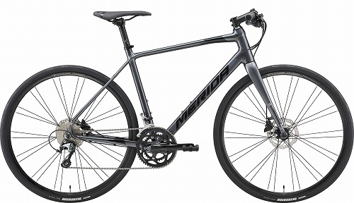 MERIDA ( メリダ ) クロスバイク GRAN SPEED300-D ( グラン スピード ) アンスラサイト ( ブラック )