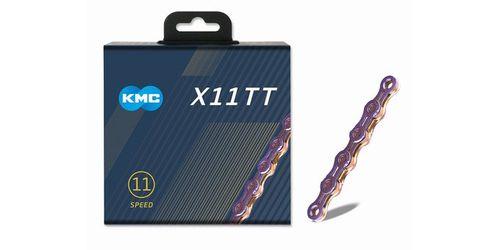 KMC ( ケーエムシー ) チェーン X11 TT NEO CHROME ( ネオ クローム )