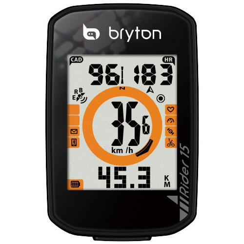 BRYTON ( ブライトン ) GPS サイクルコンピューター RIDER15E 本体のみ