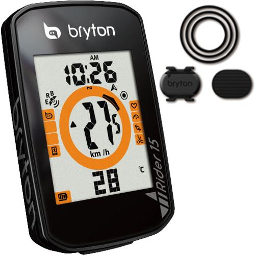 BRYTON ( ブライトン ) GPS サイクルコンピューター RIDER15C ケイデンス センサー 付属