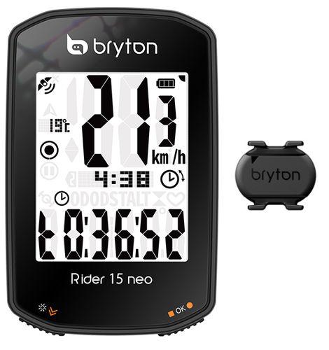BRYTON ( ブライトン ) サイクルコンピューター_本体 RIDER 15 neo C ( ライダー 15 ネオ C ) ケイデンスセンサー付