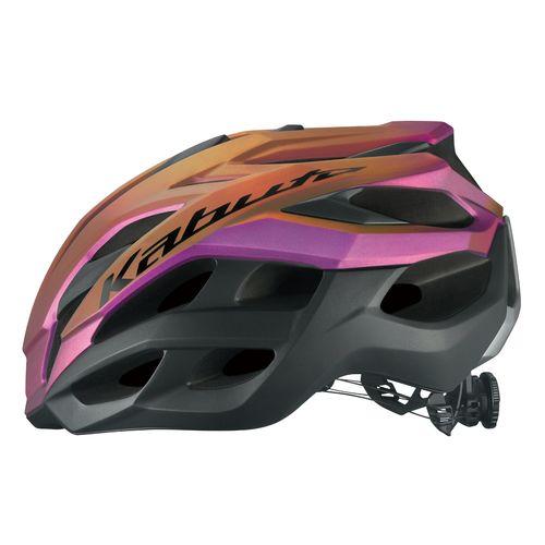 OGK KABUTO ( オージーケーカブト ) スポーツヘルメット VOLZZA ( ヴォルツァ ) マットトランスパープル S/M