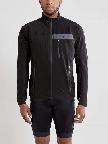 CRAFT ( クラフト ) レインウェア SURGE RAIN JKT ( サージ レイン ジャケット ) ブラック