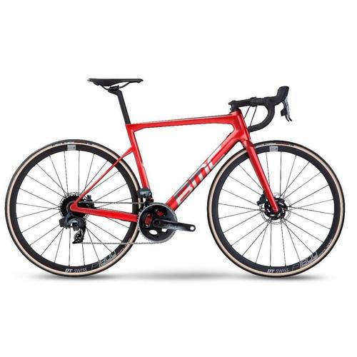 BMC ( ビーエムシー ) ロードバイク Teammachine SLR TWO ( チームマシン SLR 2 ) プリズムレッド/ブラッシュアロイ 47(適正身長165cm前後)