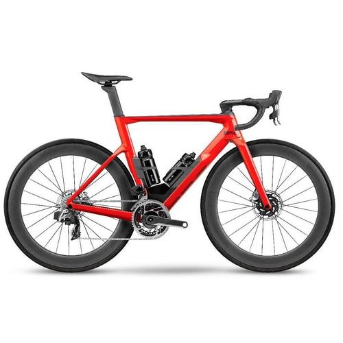 BMC ( ビーエムシー ) ロードバイク Timemachine 01 ROAD THREE ( タイムマシン 01 ロード 3 ) ネオンレッド/ブラック 47(適正身長165cm前後)