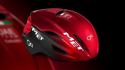 MET ( メット ) ヘルメット MANTA マンタ MIPS UAE Team Emirates 2021 M