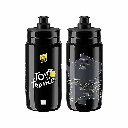 ELITE ( エリート ) FLY ( フライ )ボトル ツールドフランス 2020 マップ ブラック 550ml