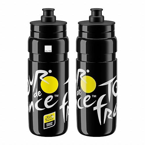 ELITE ( エリート ) FLY ( フライ )ボトル ツールドフランス 2020 ロゴ ブラック 750ml