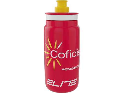 ELITE ( エリート ) ウォーターボトル FLY チームボトル 2021 コフィディス 550ml