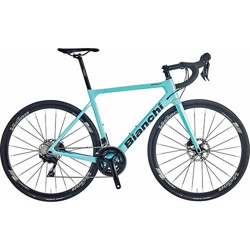 【 自転車生活応援キャンペーン開催中! 】 BIANCHI ( ビアンキ ) 2021 ロードバイク SPRINT DISC 105 ( スプリント ディスク 105 ) CK16 ( チェレステ ) グロッシー