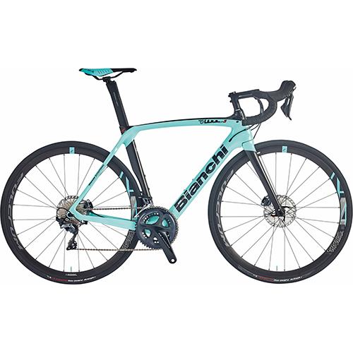 【 購入者特典あり 】 BIANCHI ( ビアンキ ) 2021 ロードバイク OLTRE XR3 CV DISC 105 ( オルトレ XR3 CV ディスク 105 ) CK16 ( チェレステ ) / ブラック フル グロッシー 47