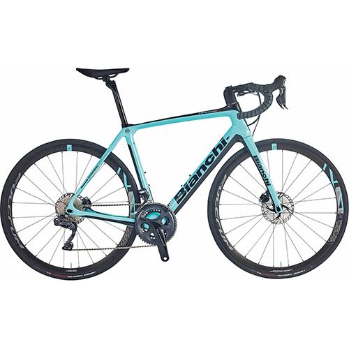 BIANCHI ( ビアンキ ) 2021 ロードバイク INFINITO CV DISC ULTEGRA ( インフィニート CV ディスク アルテグラ ) CK16 ( チェレステ ) / ブラック フル グロッシー 47