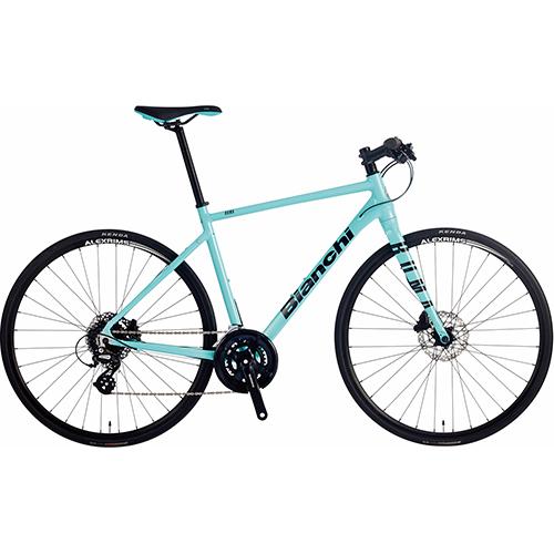 BIANCHI ( ビアンキ ) 2021 クロスバイク ROMA 3 ( ローマ 3 ) CK16 ( チェレステ ) / ブラック