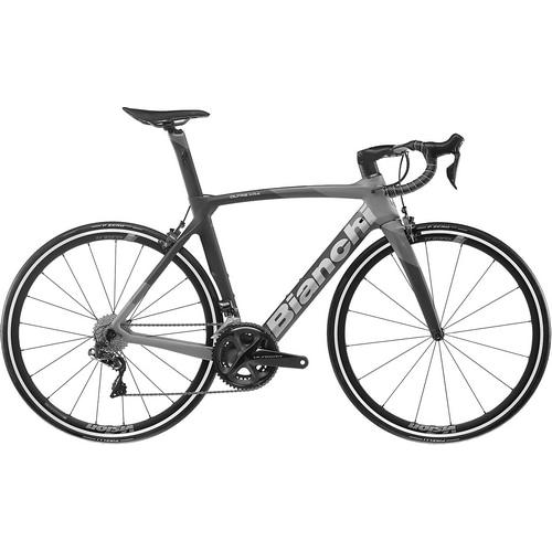 BIANCHI ( ビアンキ ) ロードバイク OLTRE XR4 CV DISC ( オルトレ XR4 CV ディスク ) ULTEGRA ( アルテグラ ) Di2 R8100 グラファイトレース / グレー シェイド マット / メタルミラーロゴ 53