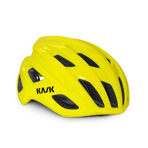 KASK ( カスク ) スポーツヘルメット MOJITO 3 ( モヒート キューブ ) イエロー フルオ L