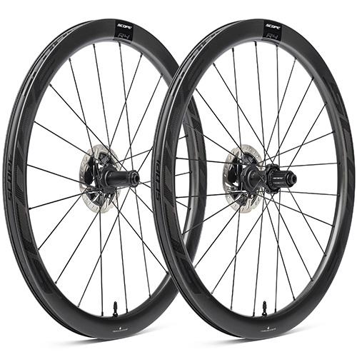 SCOPE CYCLING ( スコープ サイクリング ) ロードバイク用ディスクホイール R4 DISC TLR 前後セット ( R4 ディスクブレーキ チューブレスレディ ) ブラック シマノフリー