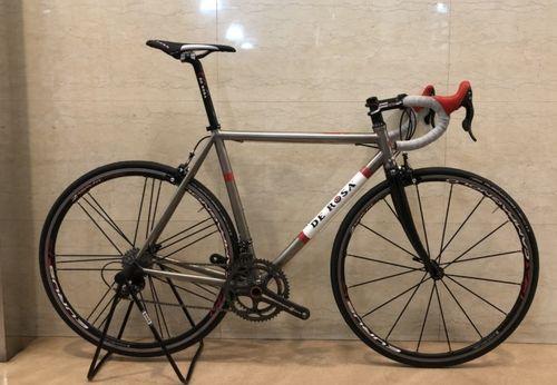 【店頭特価】DE ROSA ( デローザ ) ロードバイク TITANIO ( チタニオ ) 3.25 ロッソ 52